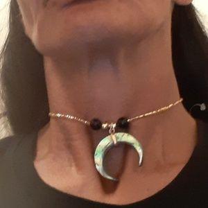 Jewelry - Black MOP Choker